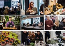 Food Tech Event met krekels, algae en 3D-food printing