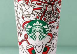 Starbucks introduceert de kerstcup