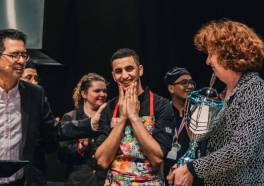 Talal Hasan maakt Lekkerste Lunchgerecht On The Move 2020