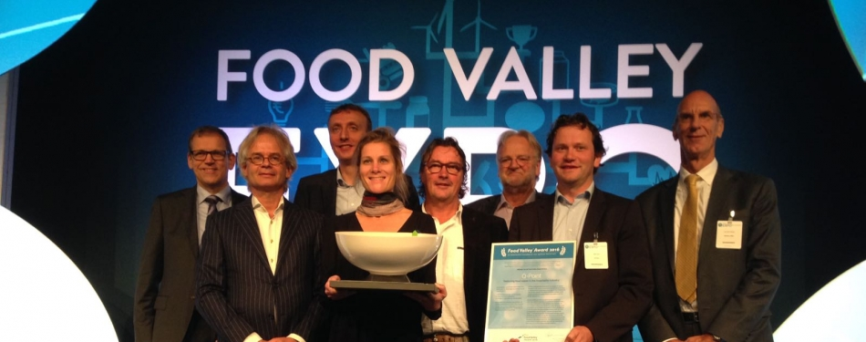 Q-Point wint de Food Valley Award 2016