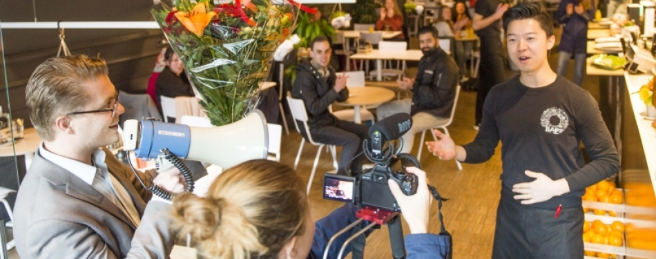 Video: de mannequin challenge bij SAP Bagel & Juice Bar Maastricht