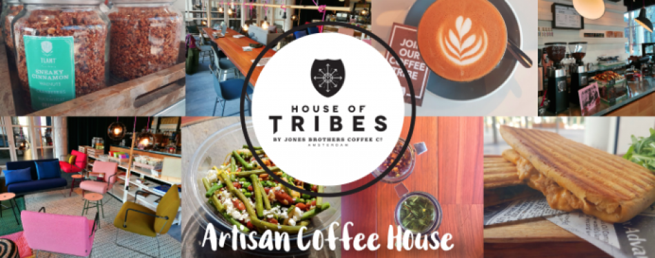 Opening House of Tribes koffiecafé in Den Haag