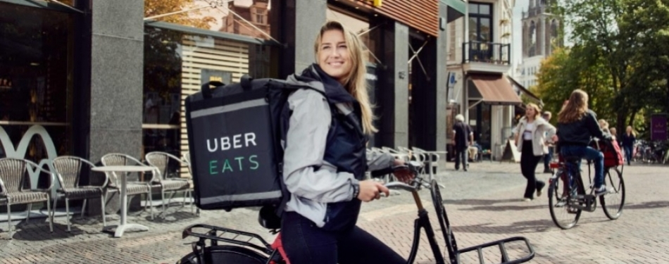 Uber Eats van start in Haarlem